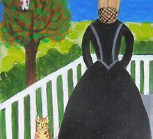 Widow's Walk by sharonkfolkart