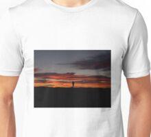 Fisherman ponders the morning sun T-Shirt