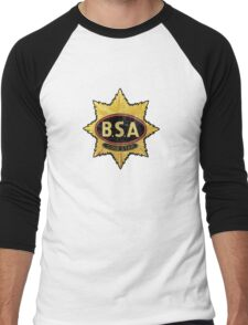 BSA vintage Motorcycle England Men's Baseball ¾ T-Shirt