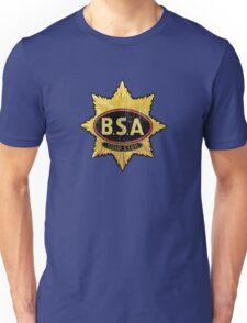 BSA vintage Motorcycle England Unisex T-Shirt