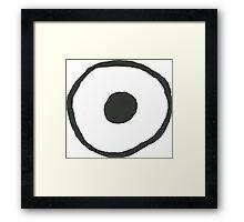 Eyeball Framed Print