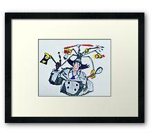 Inspector Gadget Framed Print