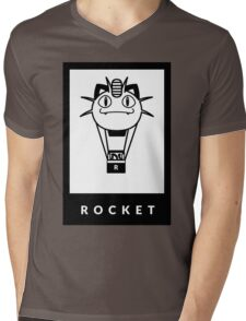 Team Rocket GO! Mens V-Neck T-Shirt