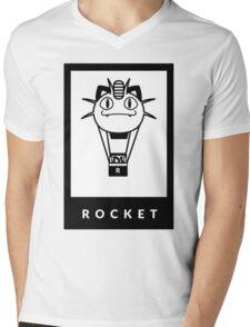 Team Rocket GO! Mens V-Neck T-Shirt