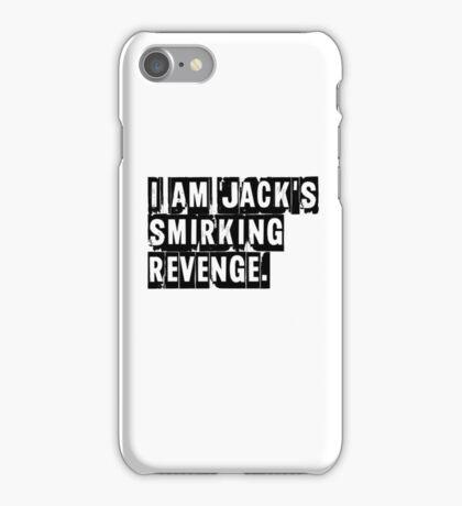 I Am Jack's Smirking Revenge - Fight Club iPhone Case/Skin