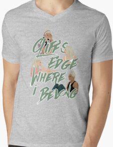 cliff's edge Mens V-Neck T-Shirt