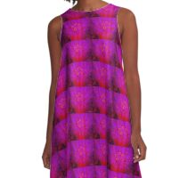 Fuschia Rush A-Line Dress