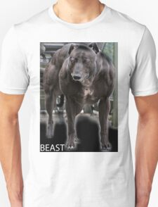 Dog on steroids - Beast Unisex T-Shirt