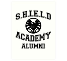 SHIELD Academy Art Print