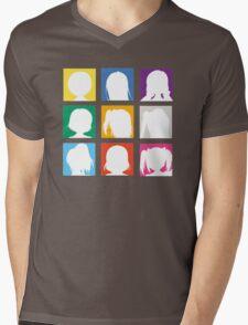 Love Live-Square Art Mens V-Neck T-Shirt