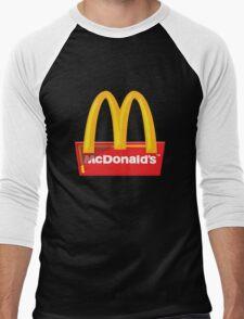 McDonald's Logo Men's Baseball ¾ T-Shirt