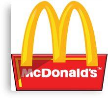 McDonald's Logo Canvas Print