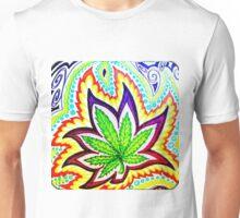 Hemp Leaf Aura Unisex T-Shirt