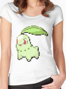 Pokemon - Chikorita Sprite Women's Fitted Scoop T-Shirt