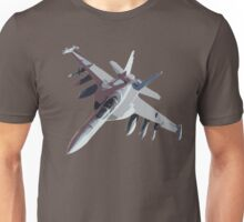 F-18 Fighter Jet Unisex T-Shirt