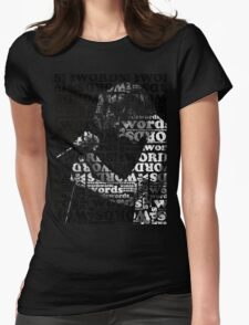 wordswordswords Womens Fitted T-Shirt