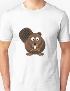 Cartoon Beaver T-Shirt