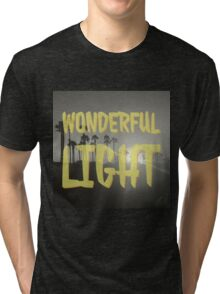 Wonderful Light bw Tri-blend T-Shirt