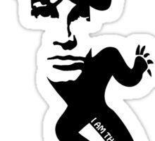 Lizard King Morrison Sticker