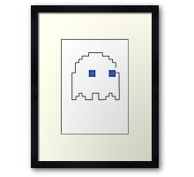 Pixel Ghosties Framed Print