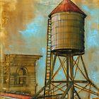 NYC Water Tower 1 by Eva C. Crawford