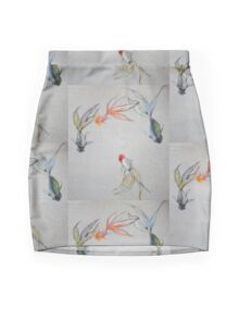 Goldfish Pond (close up #8) Mini Skirt