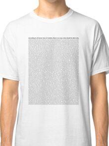 script Classic T-Shirt