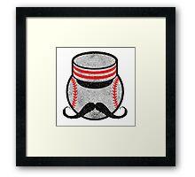 "Cincinnati Reds ""Mr. Redlegs"" vintage design Framed Print"