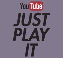 just play it Kids Tee