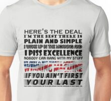 If you aint first, your last Unisex T-Shirt