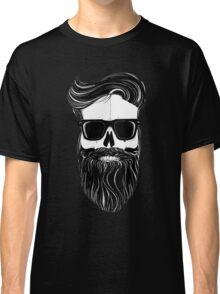 Ray's black bearded skull  Classic T-Shirt