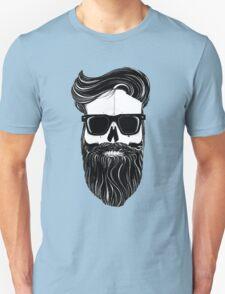 Ray's black bearded skull  T-Shirt