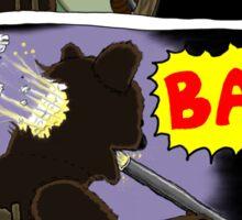 Suicide of T. Bear Sticker