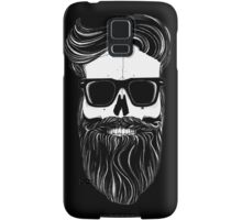 Ray's black bearded skull  Samsung Galaxy Case/Skin