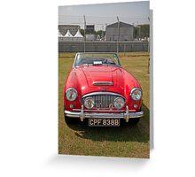 Austin Healey  Sport 1964 2912cc Greeting Card