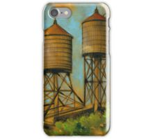 Water Towers 2 iPhone Case/Skin