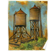 Water Towers 2 Poster