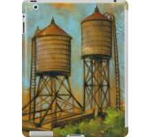 Water Towers 2 iPad Case/Skin