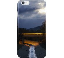 Stormwater reflections iPhone Case/Skin