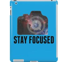 Stay Focused  iPad Case/Skin