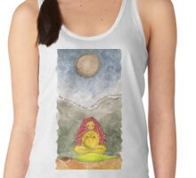 SHE SANG TO THE FULL MOON Women's Tank Top