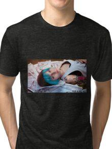 cute girl Tri-blend T-Shirt