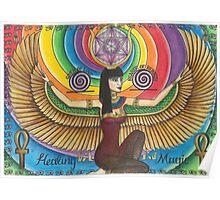 Isis - The Egyptian Goddess Poster