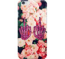Floral Skeleton iPhone Case/Skin