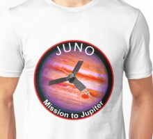 JUNO NASA Mission to Jupiter Concept Patch Unisex T-Shirt