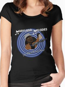 Maryland Melodies: The Cheese Stands Alone! Women's Fitted Scoop T-Shirt
