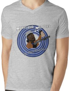 Maryland Melodies: The Cheese Stands Alone! Mens V-Neck T-Shirt