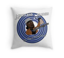 Maryland Melodies: The Cheese Stands Alone! Throw Pillow
