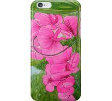 Sweetpeas iPhone Case/Skin