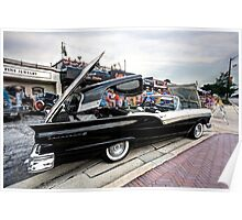 1957 Ford Fairlane Skyliner Retracted Poster